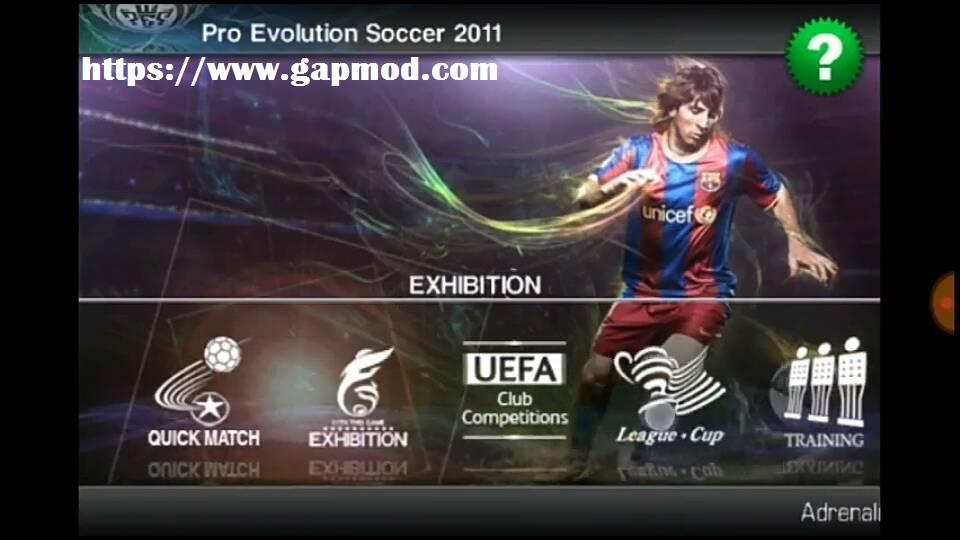 Pes 2011 mod apk 2018 | PES 2011 APK Pro Evolution [v 2 1