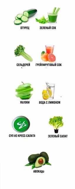 9 продуктов на которых можно похудеть