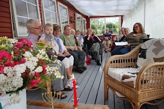 Friluftsgudstjeneste i Bork Havn 2013