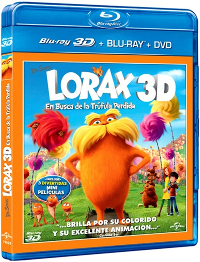 Lorax. En busca de la trúfula Perdida 3D SBS Latino