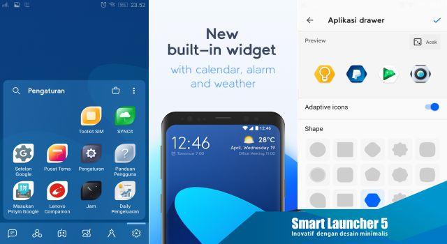 Fitur Smart Launcher 5 Pro terbaru