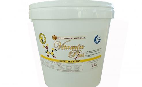 Έτοιμο σιρόπι VITAMIN PLUS από την ΜΕΛΙΣΣΟΚΟΜΙΚΗ ΑΘΗΝΩΝ για συμπλήρωμα τροφής εν όψη του χειμώνα αν τα μελίσσια δεν έχουν επάρκια μελιού!!!
