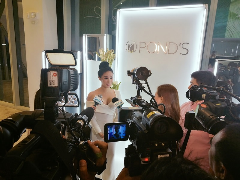 Love Marie Ongpauco-Escudero at POND's Institute white party