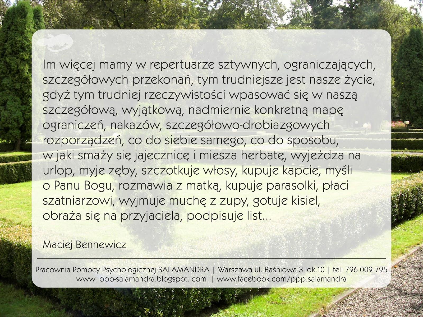 Dobry psycholog Warszawa zaleca więcej luzu