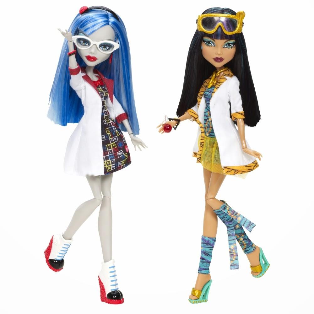 Monster High: Muñecas de Ghoulia Yelps y Cleo de Nile Compañeras de ...