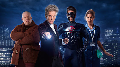 Doctor Who The Return of Doctor Mysterio Cast Image