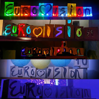 Eurovision boxes for party