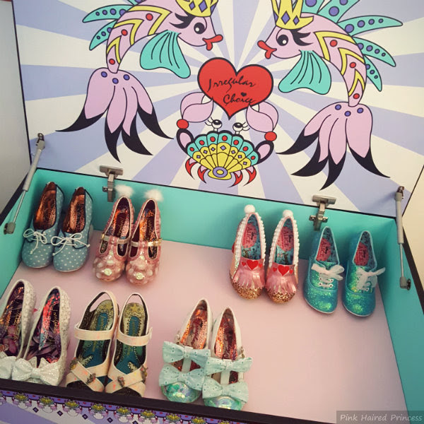 irregular choice mermaid storage chest inside top shelf