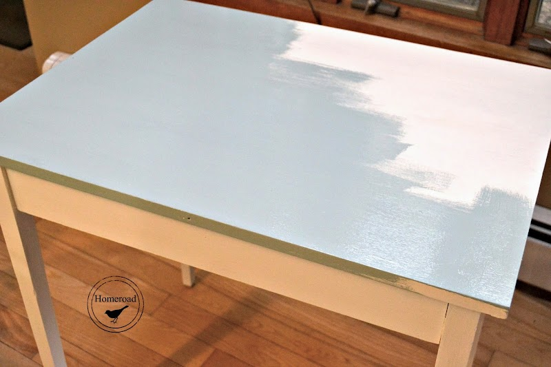 Table Drawer with a Music Page Liner