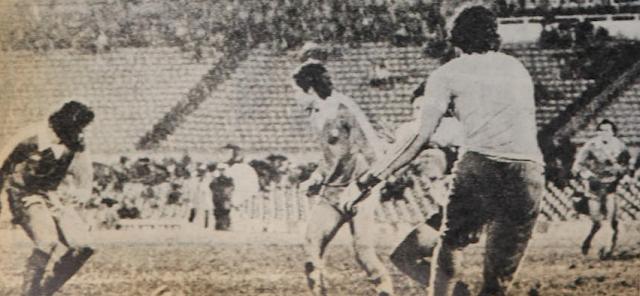 Uruguay y Chile en Copa Juan Pinto Durán 1981, partido de vuelta