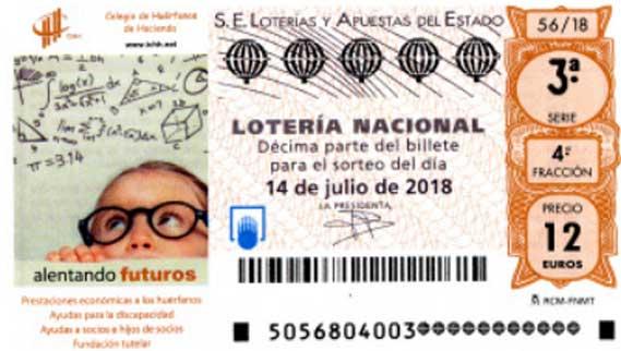 sorteo especial de julio en la loteria nacional