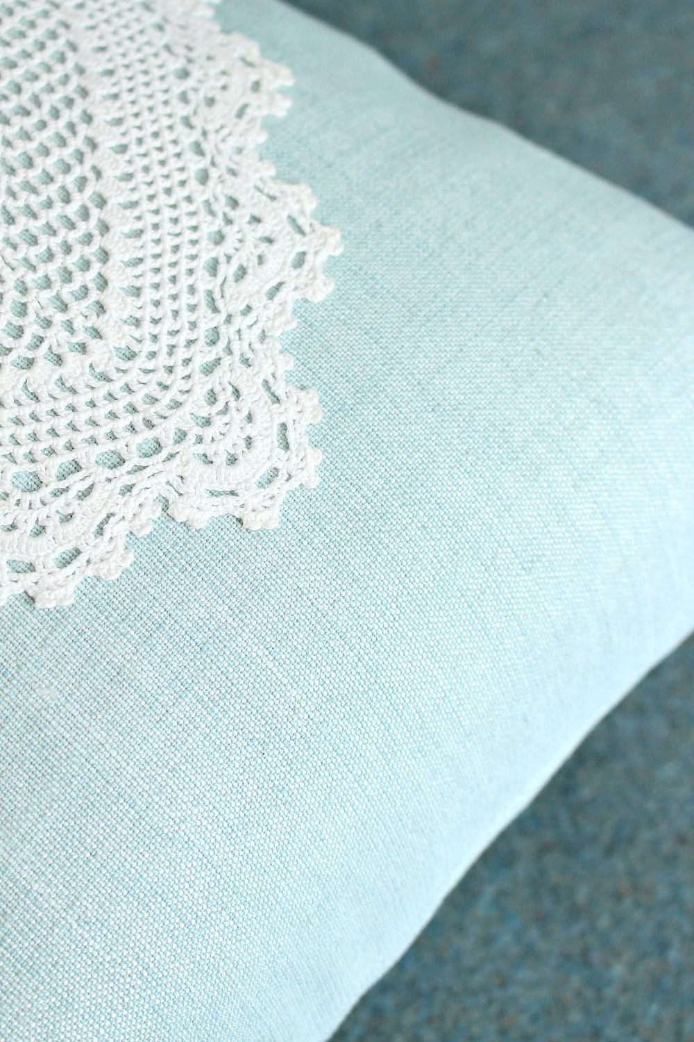 DIY modern doily project