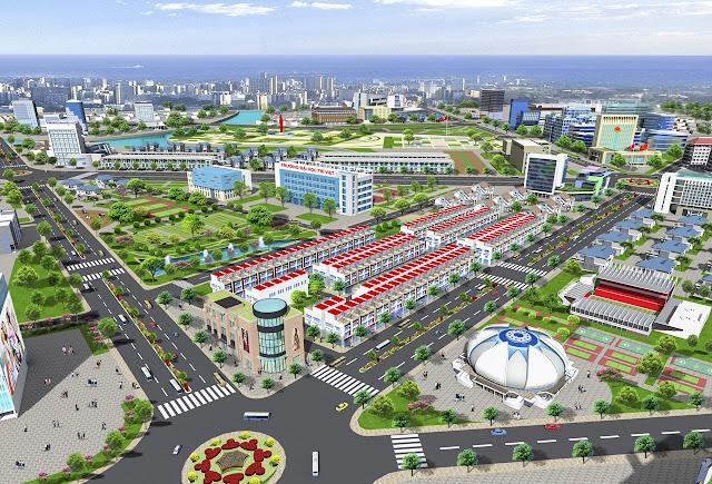 Bản đồ phân lô Dự án đất nền Ba Ria Gold City tại Bà Rịa Vũng Tàu