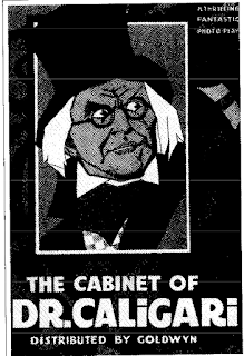 Cabinet Dr Caligari poster
