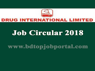 Drug International Limited Medical Promotion Officer (MPO) Job Circular 2018