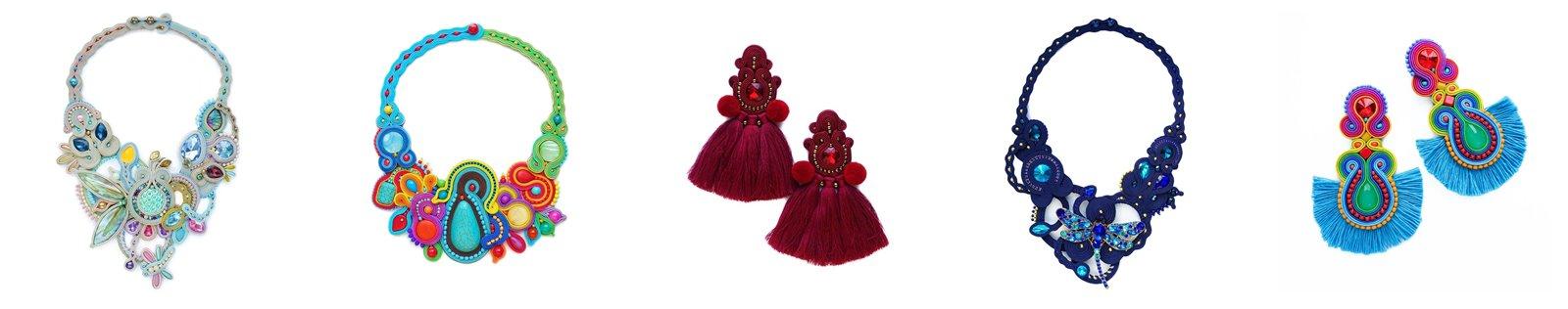 zdj 5 mró soutache jak zrobić biżuterię techniką soutache kolczyki biżuteria na wesele ślub pompony tęczowa kolorowa polska firma wyrób biżuterii ręczna biżuteria handmade sandały z pomponami wywiad pomysł biznes