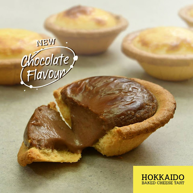Hokkaido Baked Cheese Tart Yang Sangat Sedap !
