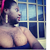 Nigeria's hairiest woman, Queen Okafor still showing off major boobs