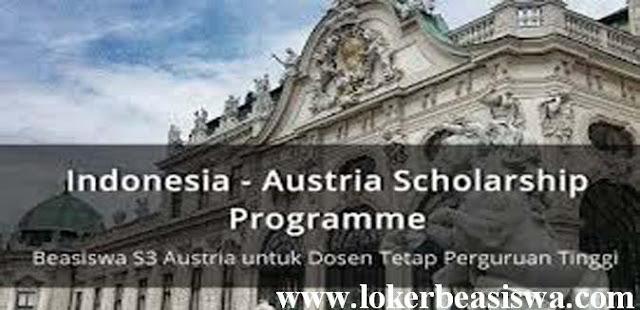 Beasiswa S3 IASP tahun 2018 Austria Untuk Dosen