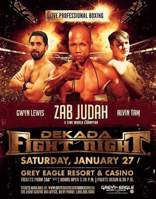 Zab Judah is Back on the Ring on January 27
