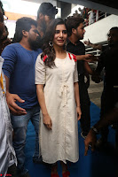 Samantha Ruth Prabhu Smiling Beauty in White Dress Launches VCare Clinic 15 June 2017 096.JPG