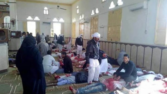 Paling Mematikan Sepanjang Sejarah, Korban Tewas Ledakan Bom di Masjid Sinai Bertambah 230 Orang