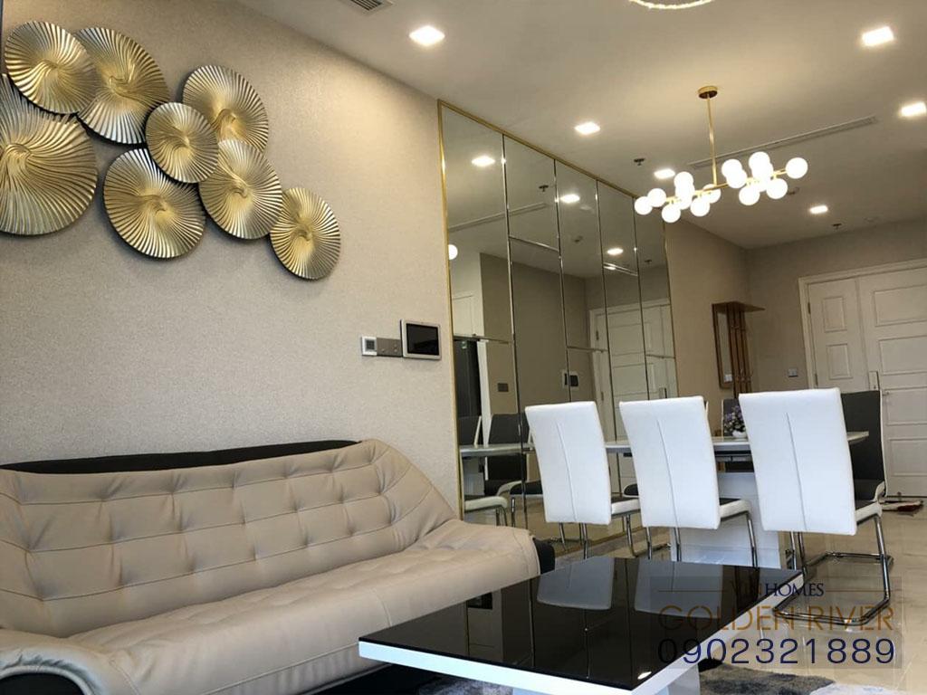 Cho thuê officetel 2 phòng ngủ Vinhomes Golden River Aqua 1 - hình 7