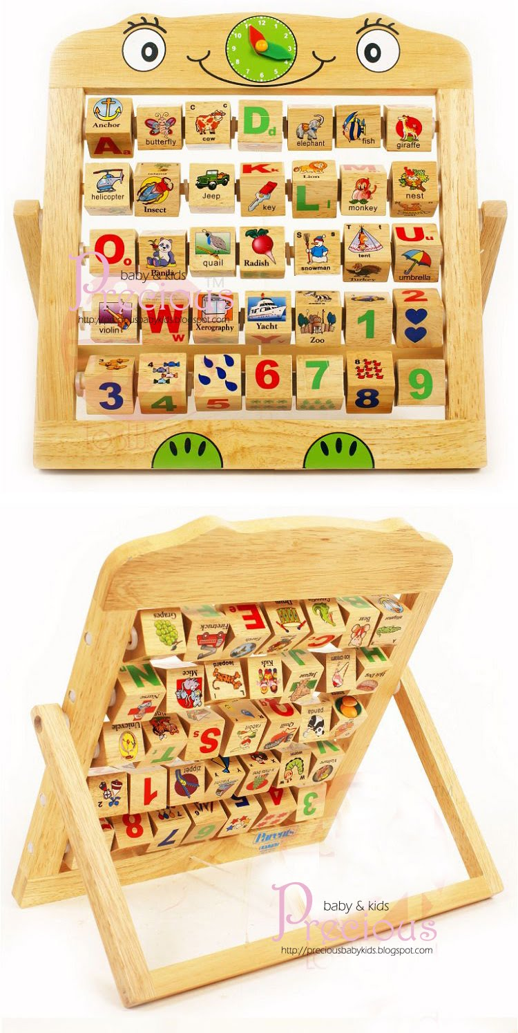 precious: PARENTS Wooden Alphabet Abacus~Sold Out