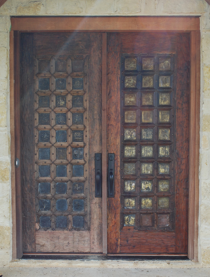 Popular Lake and Garden: Restoring the Finish on Very Old Doors IM13