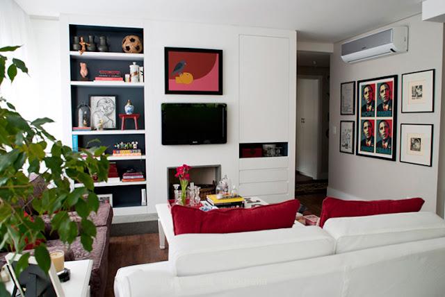 Apartamento decorado que ganhou o mundo: a casa da gaúcha. Blog Achados de Decoração