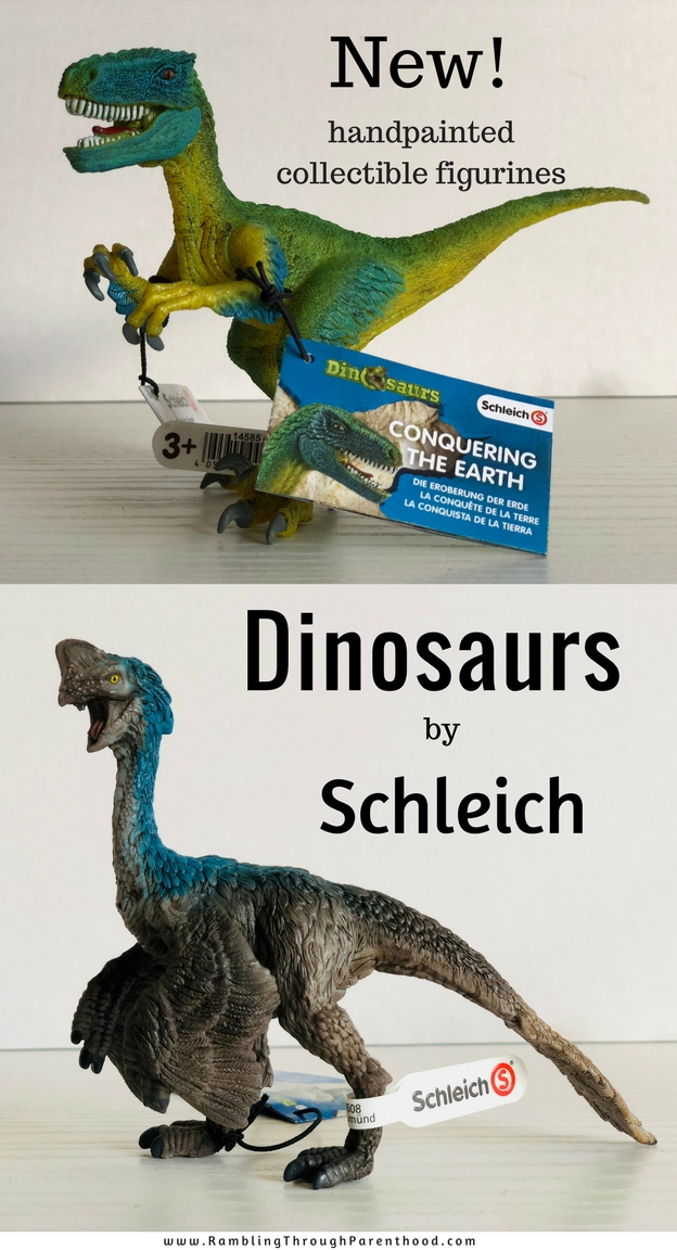 Schleich have added a fantastic new range to their collection of handpainted, collectible animal figurines. We now have a brand new lot of Schleich dinosaurs as part of their 'Conquering The Earth' range.