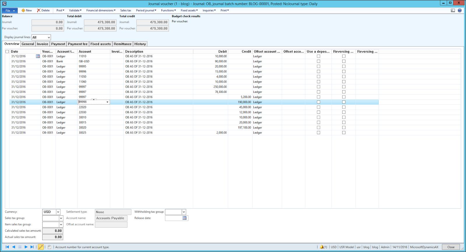 ax 2012 process opening balances part 1 microsoft dynamics ax