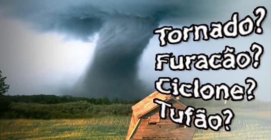 Qual a diferença entre Furacão, Ciclone, Tufão e Tornado - Capa