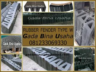 Rubber Fender Type W