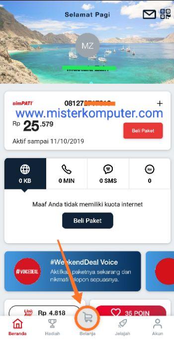 Cara Transfer Pulsa Simpati Pakai Aplikasi MyTelkomsel