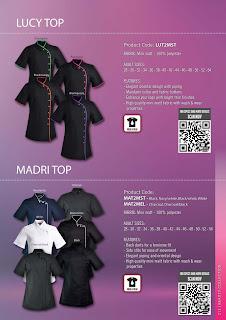 Madri salon tunic salon staff uniforms for Spa uniforms johannesburg