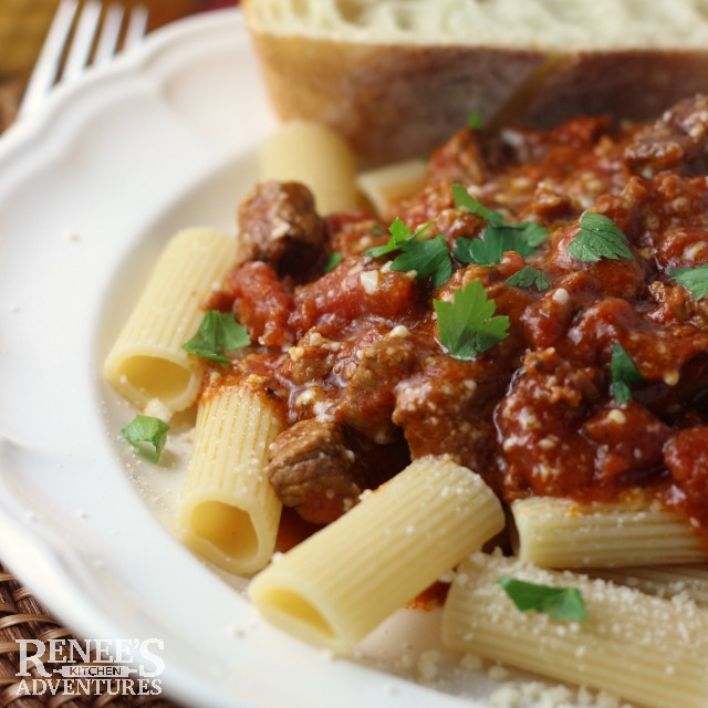 Slow Cooker Beef Italiano