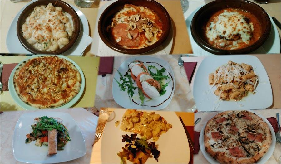 Ensaladas, pizzas, pastas en Passaparola Madrid Aluche