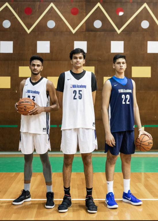 Hoopistani Indian Prospects Princepal Singh Amaan Sandhu And