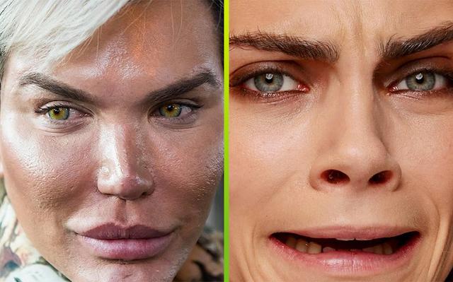 Фото вблизи: Звезды годами наносят тяжелый макияж, вот к каким последствиям он приводит