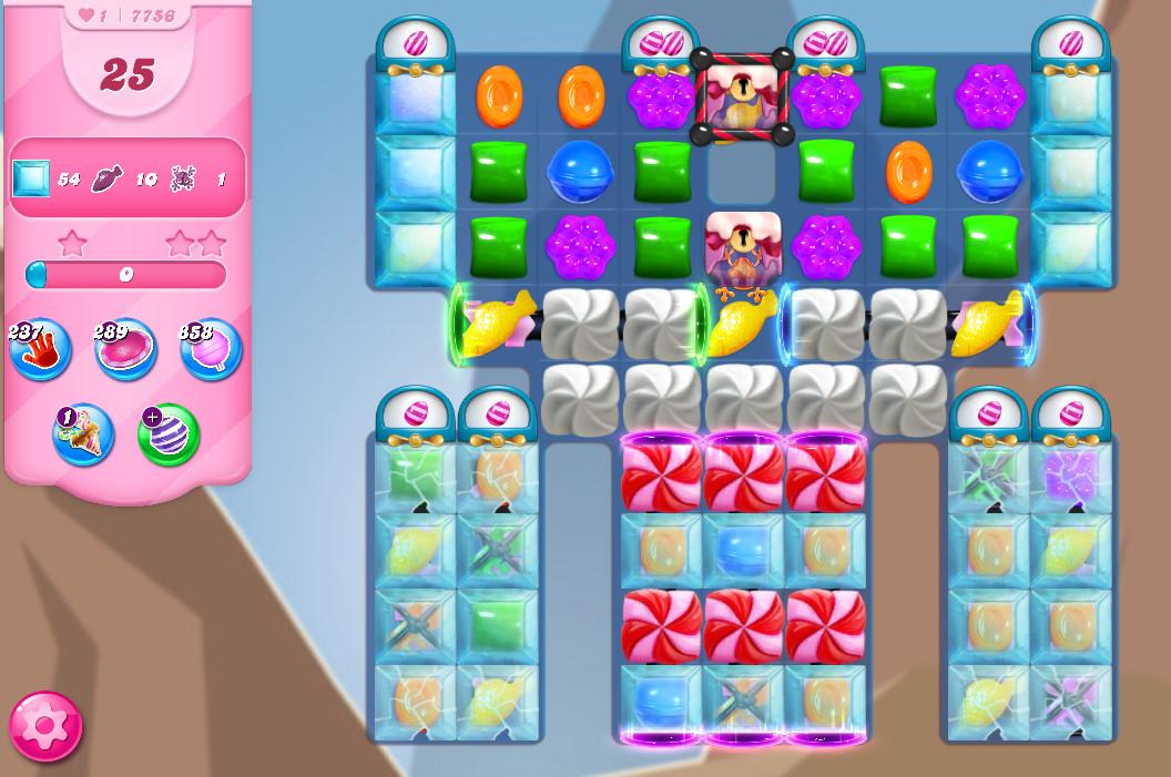 Candy Crush Saga level 7756