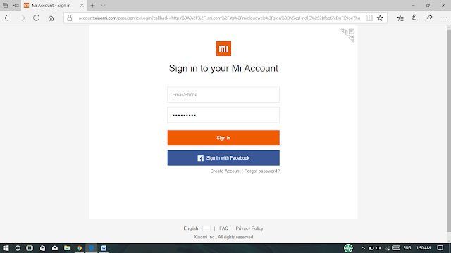 Sign In Ke Mi Accounts