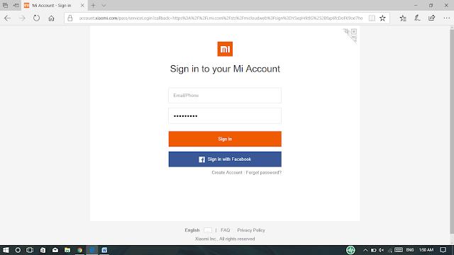 Sign In Ke Mi Accounts