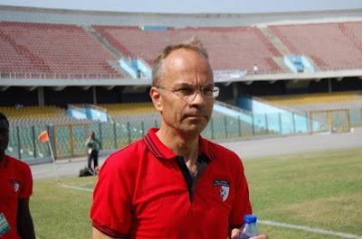 WAFA coach Klaus Rasmussen