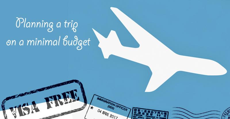 Planning a trip on a minimal budget