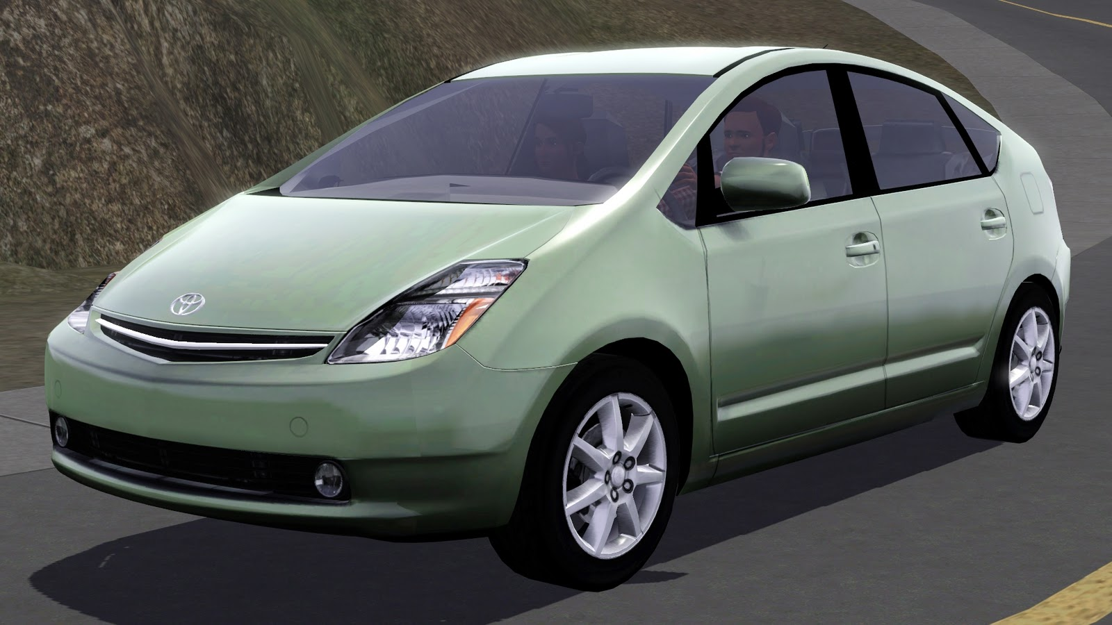 my sims 3 blog 2009 toyota prius by fresh prince. Black Bedroom Furniture Sets. Home Design Ideas