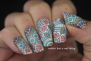 Nicole Diary - Full Nail Water Decals