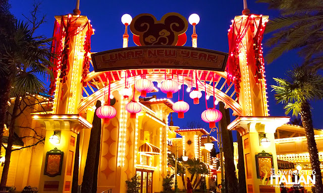 Lunar New Year Disneyland California Adventure