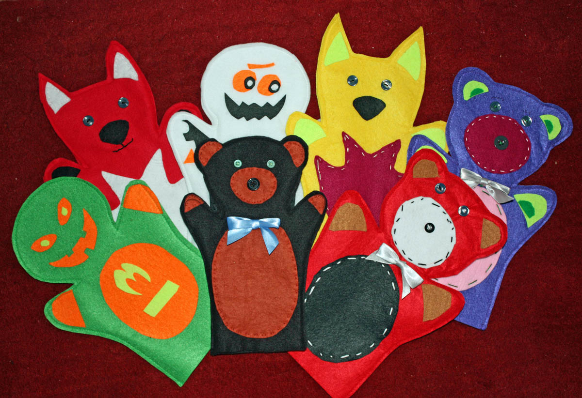 picture regarding Free Hand Puppet Patterns Printable identified as Craft and Routines for All Ages!: Felt Hand Puppets - Free of charge