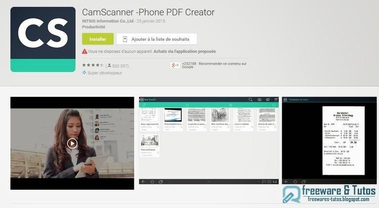 CamScanner Integre Un Systeme De Recadrage Intelligent Ainsi Que Des Outils Retouche Basiques Pour Rogner Recentrer Automatiquement Limage Et Ameliorer